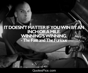 quotes, fast and furious, and Vin Diesel image