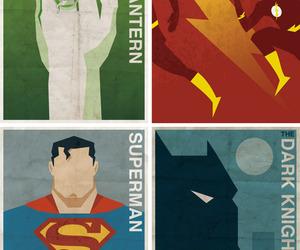 superman, green lantern, and the flash image