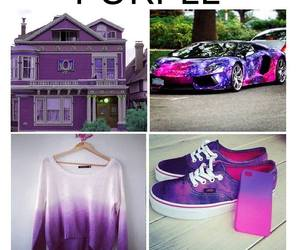 color, goals, and purple image