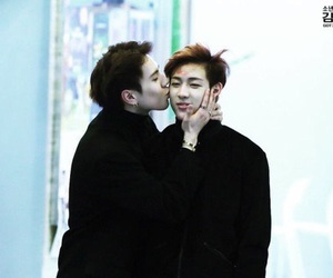 so cute, bambam, and yugbam image