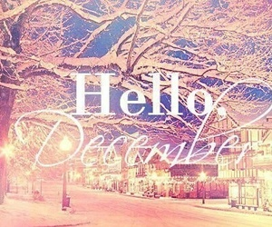 pink, lights, and hello december image