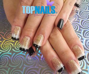 heart, nail art, and nails image