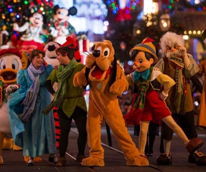 christmas, disney, and disney world image