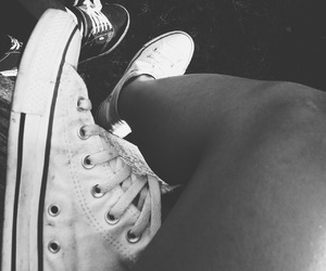 traintrack, vans, and converse image