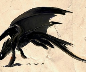 toothless, dragon, and httyd image