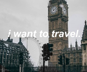 london, travel, and world image