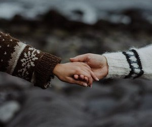 couple, hands, and romantic image