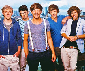 one direction, boy, and niall horan image