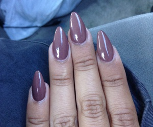 brown skin, girls, and acrylic nails image