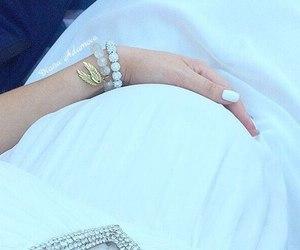bracelet, dress, and family image