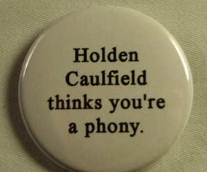 holden caulfield, catcher in the rye, and pins image