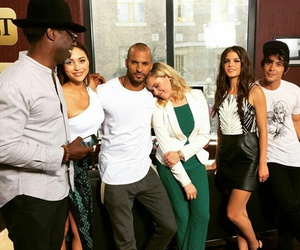 the 100, marie avgeropoulos, and ricky whittle image