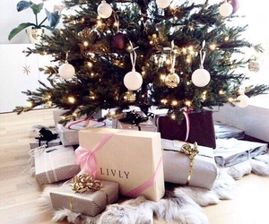 christmas tree, december, and presents image