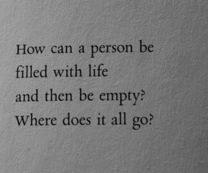 quotes, life, and empty image