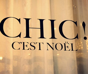 chic, christmas, and noel image