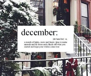 december, winter, and happiness image