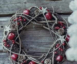 christmas and wreath image