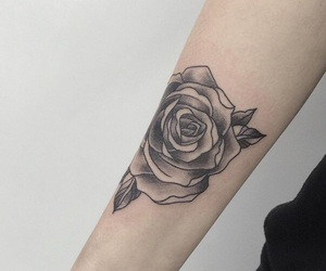 hands, inspiration, and rose image