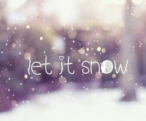 snow and ❄ image