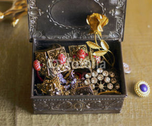 antique, jewelry box, and photography image