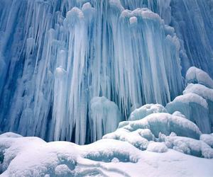 ice, winter, and snow image