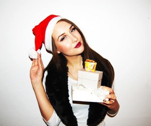 holiday, makeup, and style image