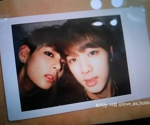 couple, jin, and kpop image