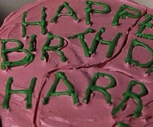 birthday, hp, and harrypotter image