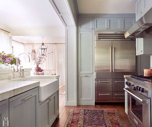gray, kitchen, and home ideas image