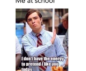 school, funny, and me image