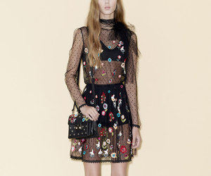 fashion, red valentino, and autumn image