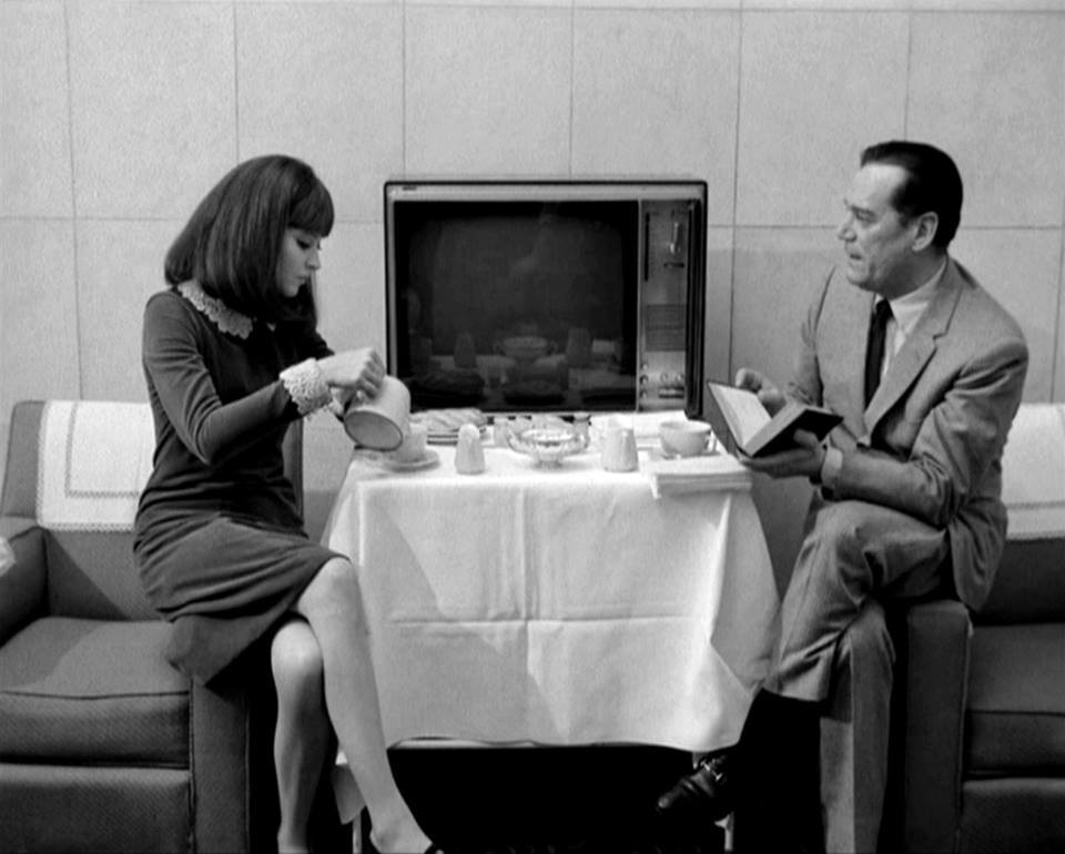 classy, tv, and coffee image