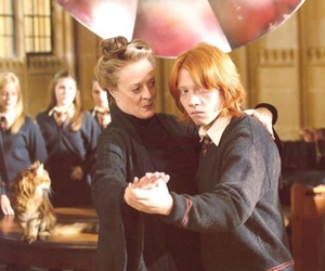 harry potter, ron weasley, and dance image