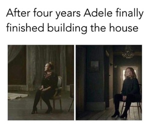 Adele, follow, and funny image