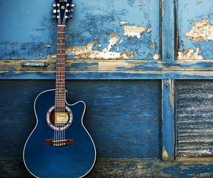 blue, vintage, and music image
