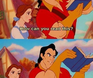 book, disney, and beauty and the beast image
