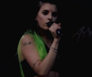 juliet simms, andy biersack, and warped tour 2015 image