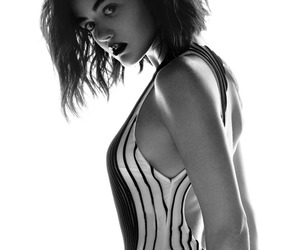 black&white, photoshoot, and lucy hale image