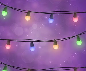 christmas, lights, and wallpaper image