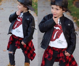 boy, brown, and fashion image