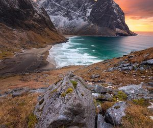 belleza, costa, and naturaleza image