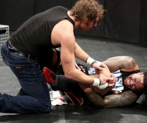 wwe, dean ambrose, and usos image