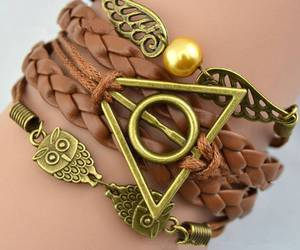 harry potter, bracelet, and owl image