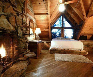 bed, Dream, and wood image