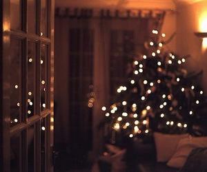 christmas, lights, and winter image