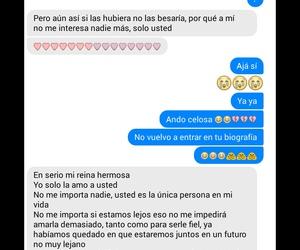 celos, frases en español, and amor a distancia image