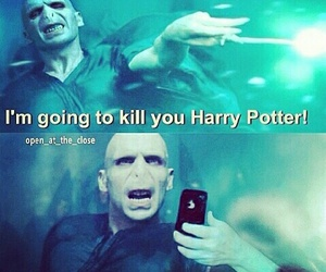 funny, harry potter, and selfie image