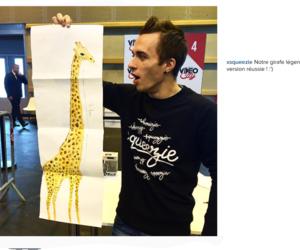 dessin, Girafe, and mdr image