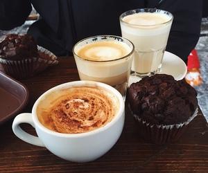 coffee, cake, and cupcake image