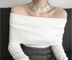 fashion, korean fashion, and pure image